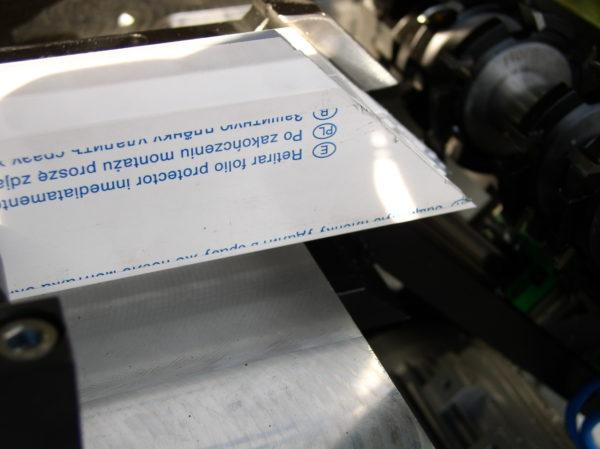 Fräsen von Dichtungen für Profile mit der Dichtungsfräse HDF4-3