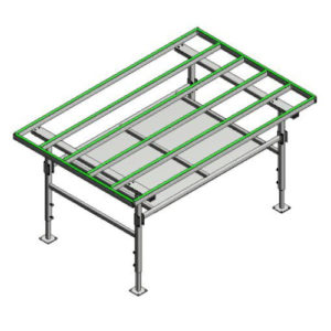 Window assembly on table - Assembly Table MT2000