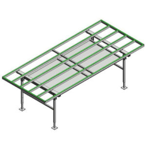 Mount windows on table - Assembly Table MT3000