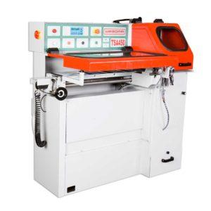Automatic sawing of profiles - Profile vollautomatisch sägen – Die WEGOMA Taktsägeautomat TSA450: vollautomatisch, Industriepanel, automatisches Laden und Vorschub !